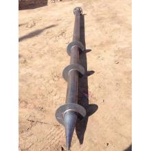 Anclaje de tornillo de tierra galvanizado para cimentación de pila de tornillos