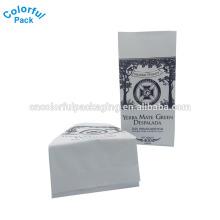 250g que está o saco lateral personalizado da folha de alumínio do reforço