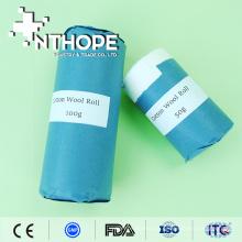 medizinische absorbierende Watte mit Papier