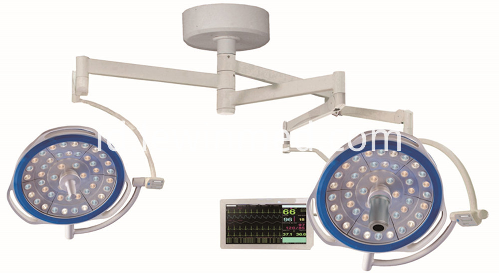 Medical led lamp with camera system