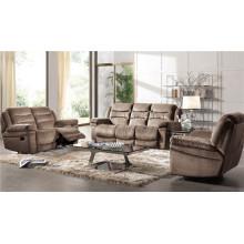 Sofá elétrico reclinável EUA L & P sofá do mecanismo para baixo do sofá (898 #)