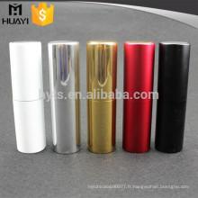 Vente chaude luxe torsion rechargeable atomiseur de parfum