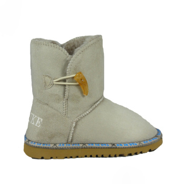 Kids Tan Suede Boots for Girls Sale