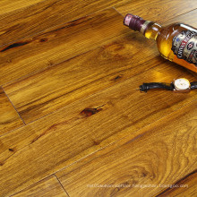 Interior Strong Durability Solid Bubinga Wooden Flooring