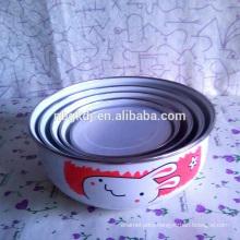 Chinese enamelware custom ice bowl & enamel coating bowl wholesale