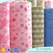 One-off Non-Woven Table Cloth Printed TNT Fabric