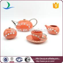 Антикварный дизайн горячий чай продажи кофе с бриллиантом