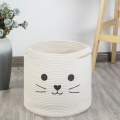 Cat Cotton Rope Basket Bag Geschenk