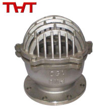 La fábrica suministra directamente válvula de pie de emergencia de acero inoxidable