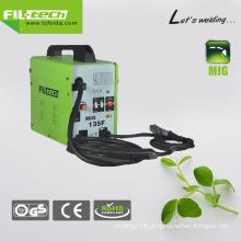 Nenhum gás projeto Flux Transformador MIG soldador com certificado Ce (MIG-125F / 135F / 155F)