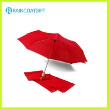 Размер кармана ветрозащитный легкий складной зонтик (ром-041)