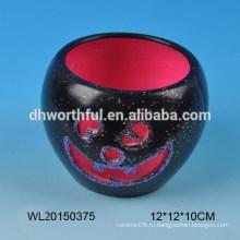 Хэллоуин подарок керамический подсвечник