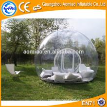Tienda inflable inflable de la burbuja para el precio inflable de la tienda de campaña de la tienda