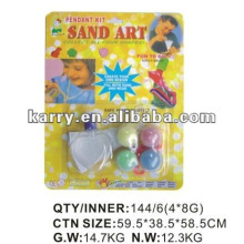 4 COLORS SAND ART FOR CHILDREN WITH EMPTY BOTTLE
