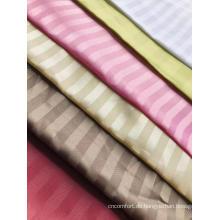 Polyester Streifen Dobby Jacquard Stoff in verschiedenen Farben