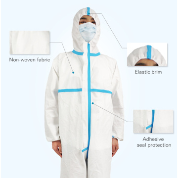 Vêtements de protection médicaux jetables