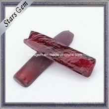 Material sin cortar 5 # Corindón sintético áspero