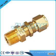 Raccords de compression à tube de cuivre / raccords de tuyauterie en cuivre / raccords en cuivre