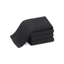 парикмахерская черные полотенца