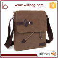 Fashion Men Business Messenger Bag Canvas Shoulder Bag