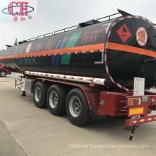 Remolque de asfalto de 36000 litros de betún semirremolque