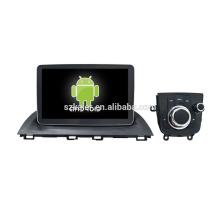 Vier Kern! Android 6.0 Auto-DVD für MZDA 3 mit 9-Zoll-Kapazitiven Bildschirm / GPS / Spiegel Link / DVR / TPMS / OBD2 / WIFI / 4G
