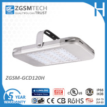 120W LED Industrial High Bay Light with 60, 90, 110 Degrees
