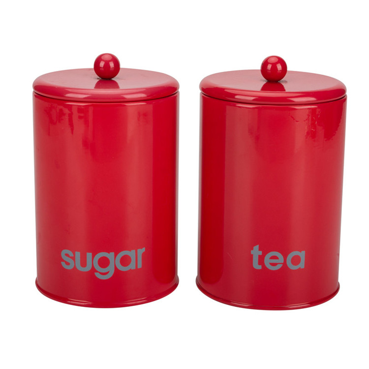 Tea Sugar Canister Set