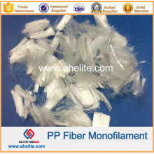 6mm 12mm 18mm PP Monofilament Fiber for Construction