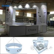 conception d'exposition en aluminium / affichage d'exposition / conceptions de cabine en aluminium à shanghai, Chine