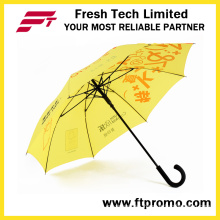 23 Inches Auto Open Straight Umbrella for Custom