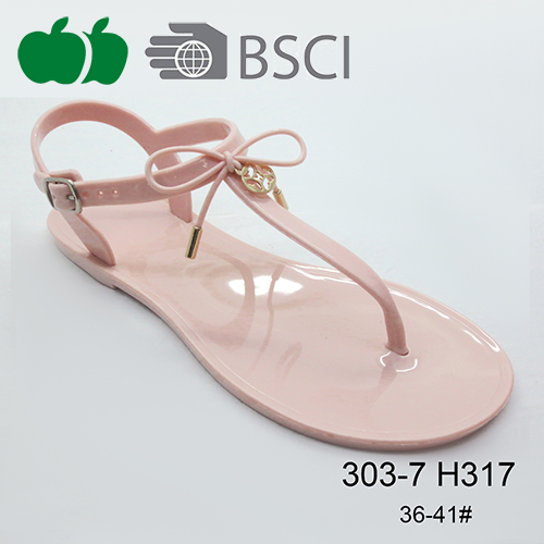 summer fancy jelly sandals