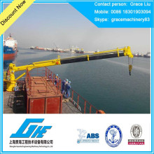 Grue marine à grue chantier naval