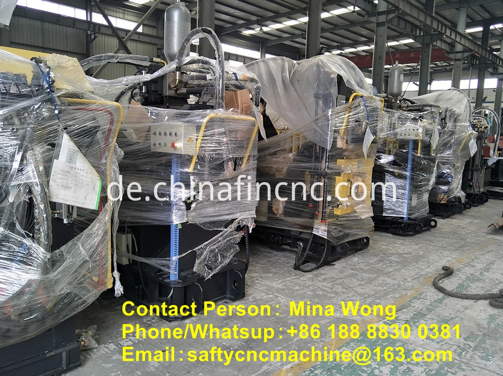 Angle iron punching machine