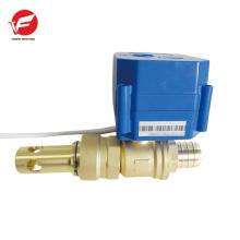 El control de flujo eléctrico de la válvula de agua eléctrica 12v más duradera motorizado