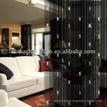 China supplier wholesale ready made string perl rideau pvc