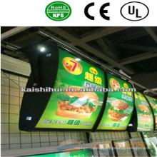 Schlankes Lichtkasten der Qualitäts-LED für die Werbung des Zeichens