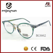 Óculos óculos ópticos de óculos redondos à moda feminina atacado China