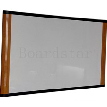Oak Colored Aluminum Profile Whiteboard/White Board (BSTCG-T)
