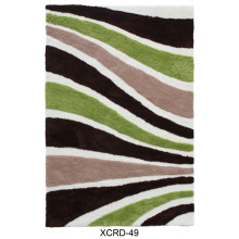 Conception de tapis Shaggy Soft Microfiber