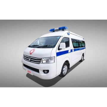 Mobile ambulance medical CT vehicle for CT scan