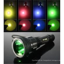 Tauchzubehör mehrfarbige Filter für Taschenlampen / 45mm C8 Taschenlampe Objektiv