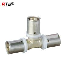 B 4 21 Messing Pressfittings gleich T-Stück für Rohrleitungen