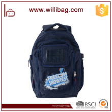 China Wholesale Solar Chargeable Backpack, High Quality Solar Backpack