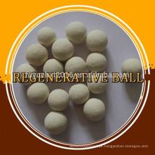 Bolas com bola de cerâmica de armazenamento de calor de separação de ar regenerativa