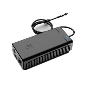Black white 14.6v 20a Charger 14.6v Lifepo4 Battery Charger For 4s 12.8v Lifepo4 Battery Smart Charger