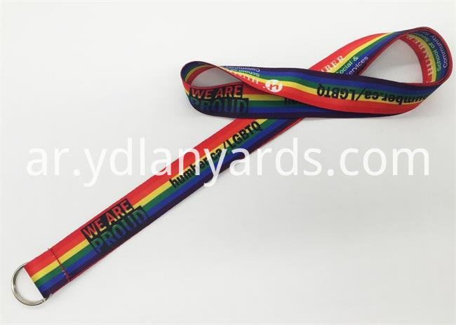 Custom Logo Dye Sublimation Lanyards