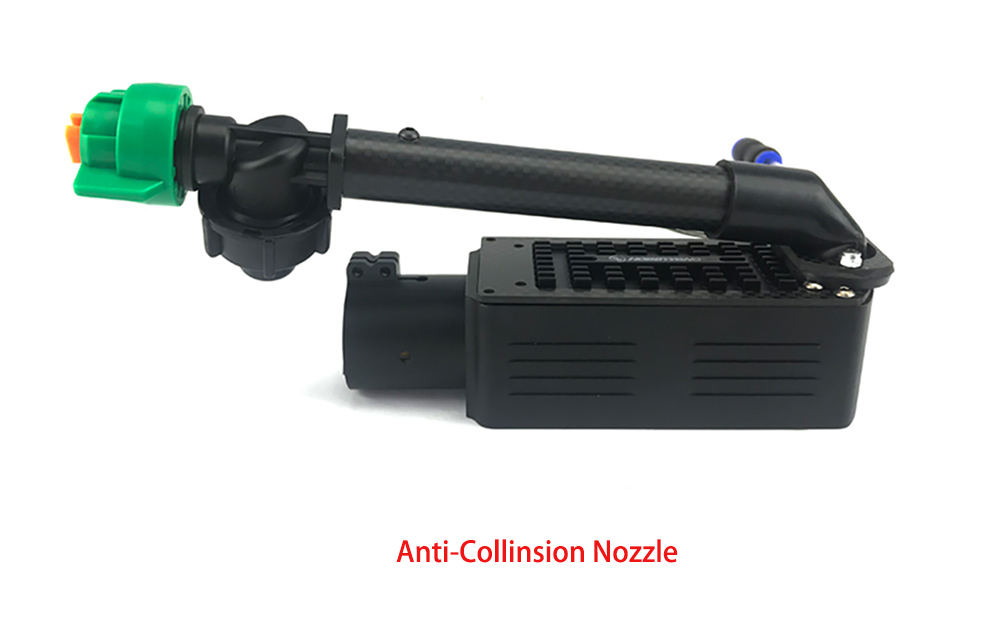 anti-collision nozzle