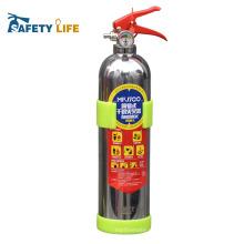 Garrafas vazias / espuma de aço inoxidável / extintor do carro mini espuma