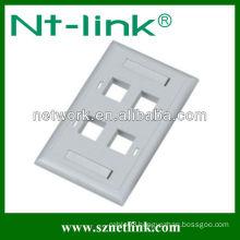 Modular FacePlate,2 Port Faceplate,RJ45 FacePlate,China Faceplate